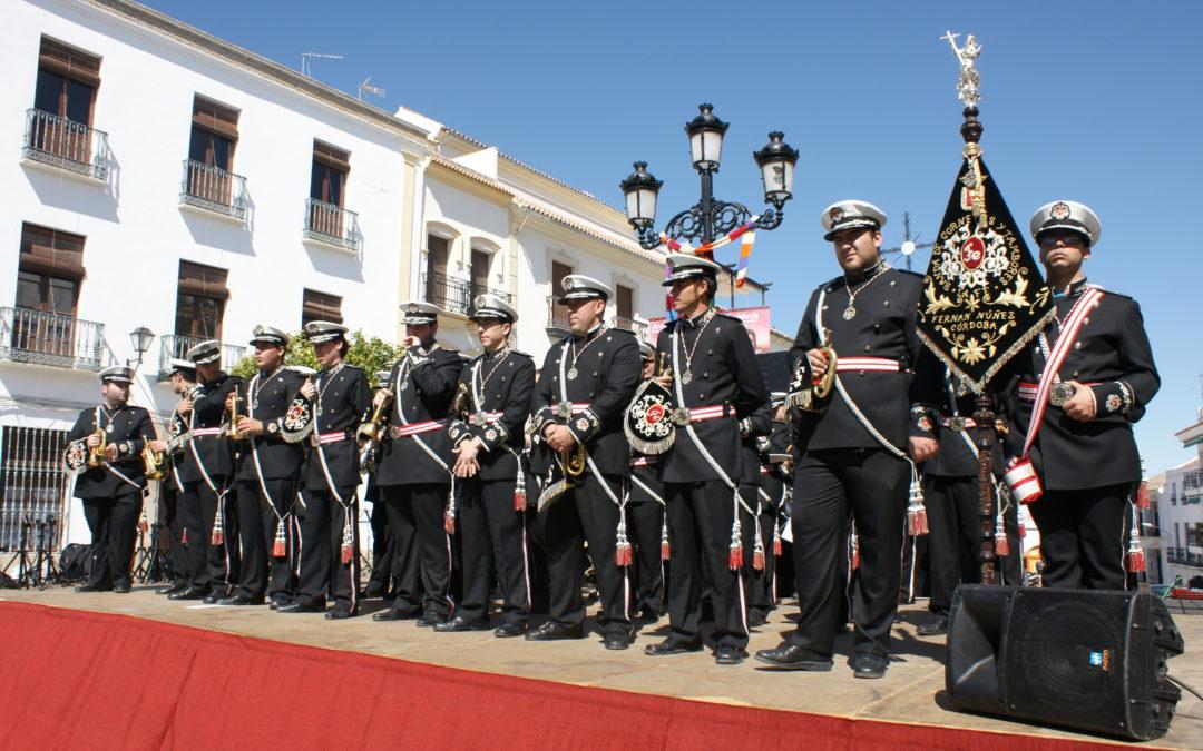"""EL XIII CERTAMEN DE MARCHAS PROCESIONALES """"MEMORIAL CRISTÓBAL BARBA"""" REÚNE A CUATRO BANDAS 1"""