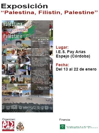 EXPOSICIÓN PALESTINA, FILISTIN, PALESTINE, EN EL IES PAY ARIAS. 1